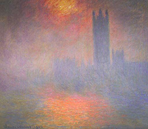 Claude Monet Houses of Parliament, London 1904