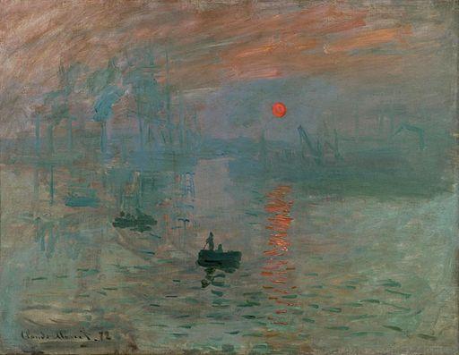 Claude Monet Impression, Sunrise 1872