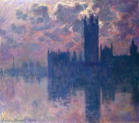 Claude Monet Houses of Parliament, London 1902