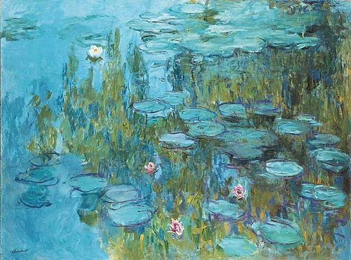 Claude Monet Water Lilies 1915