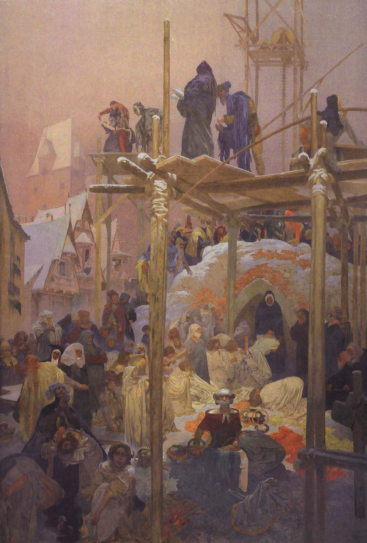 Alfons Maria Mucha Jan milic z kromerize