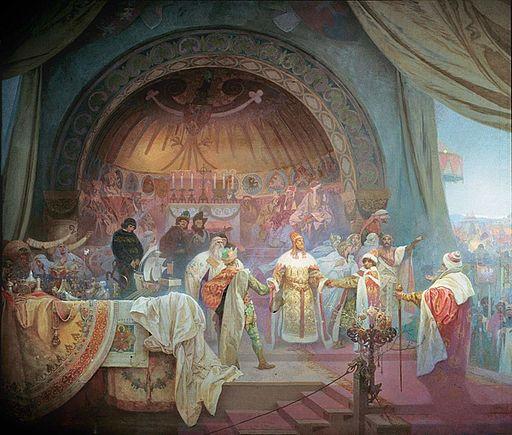 Alfons Maria Mucha PŘEMYSL OTAKAR II., KRÁL ŽELEZNÝ A ZLATÝ