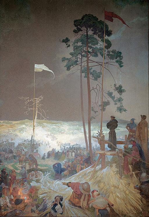 Alfons Maria Mucha Schůzka na Křížkách