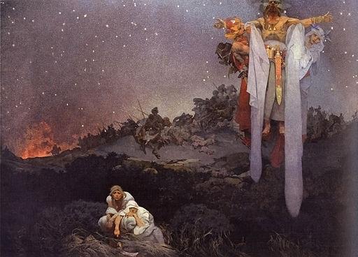Alfons Maria Mucha Slovane v pravlasti