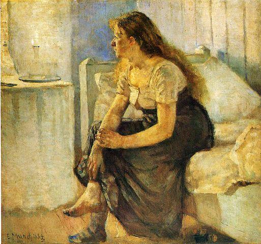 Edvard Munch morning 1884