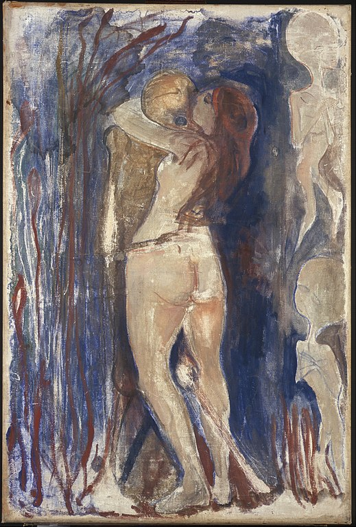 Edvard Munch Death and Life 1893