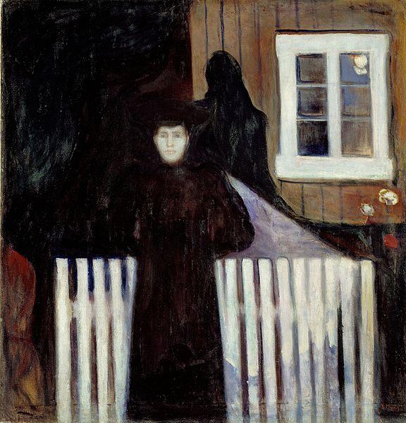 Edvard Munch Moonlight 1893