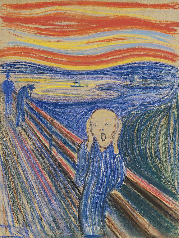 Edvard Munch The Scream 1895