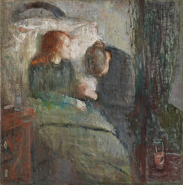 Edvard Munch The Sick Child 1885-1886