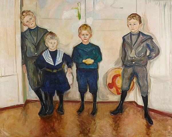 Edvard Munch Dr. Linde's Sons 1903