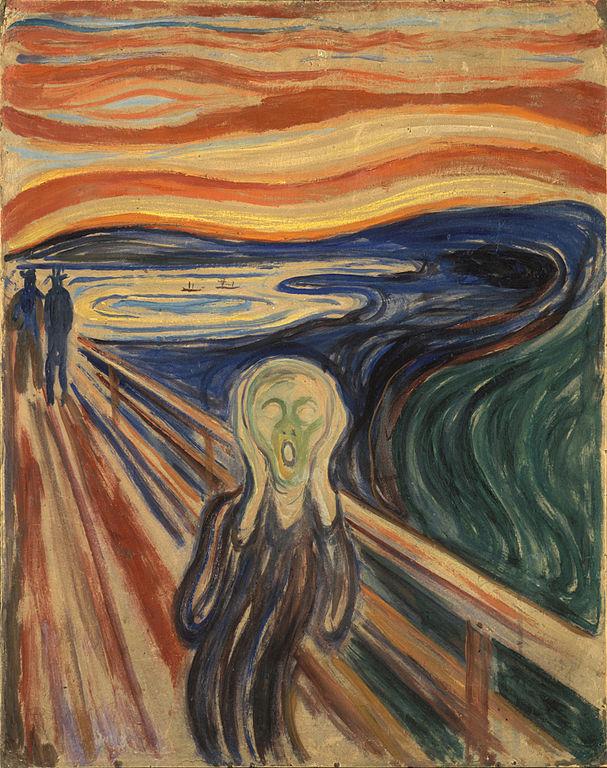 Edvard Munch The Scream 1910