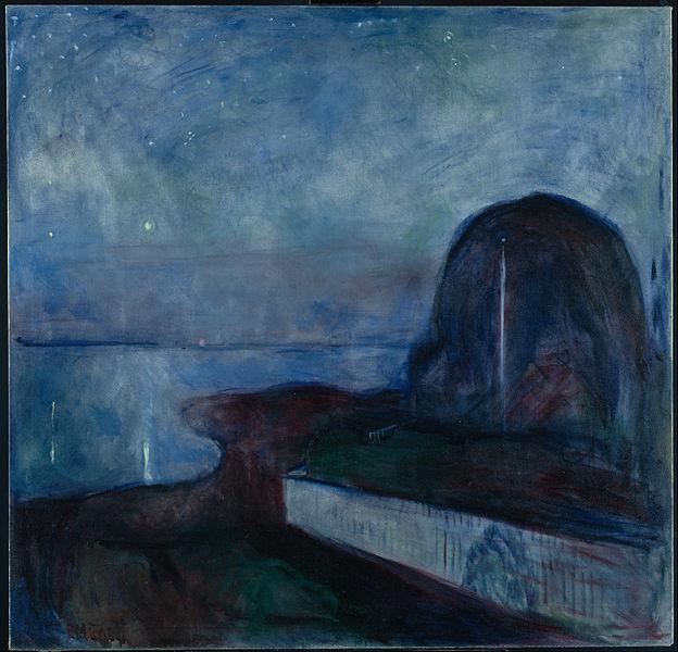Edvard Munch Starry Night 1893