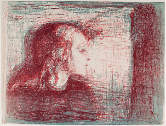 Edvard Munch The sick child 1896