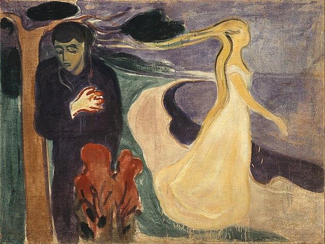 Edvard Munch Separation 1896