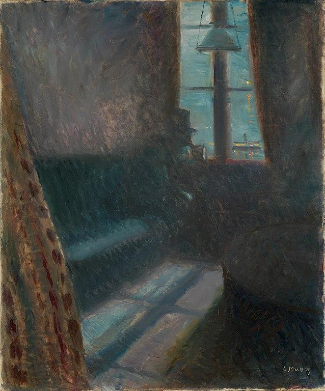 Edvard Munch Night in Saint-Cloud 1890