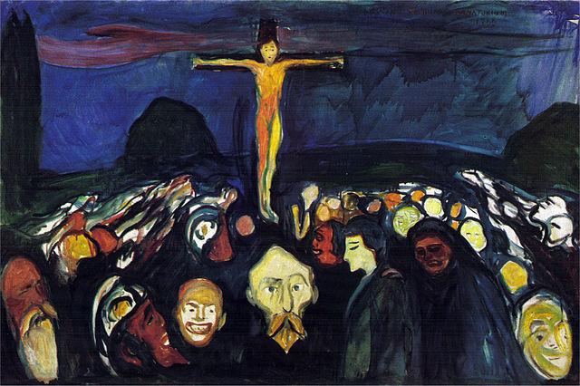 Edvard Munch Golgatha 1900