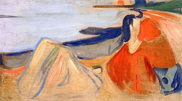 Edvard Munch Melancholy (The Reinhardt Frieze) 1906-1907