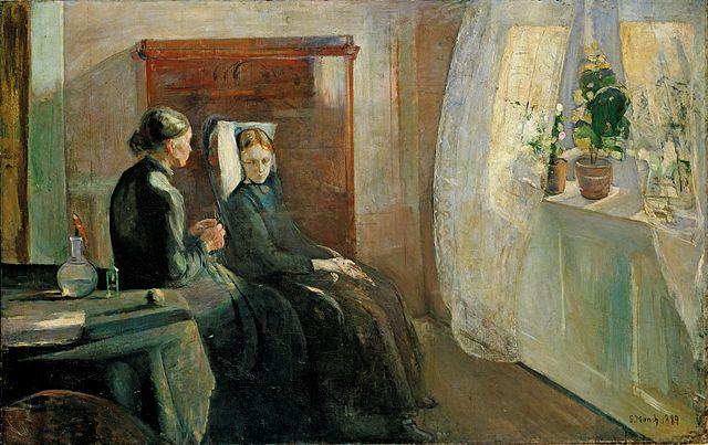 Edvard Munch Spring 1889