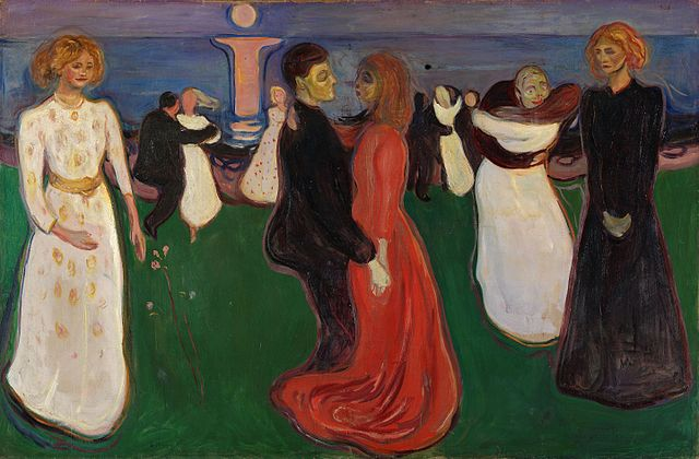 Edvard Munch The dance of life 1899-1900