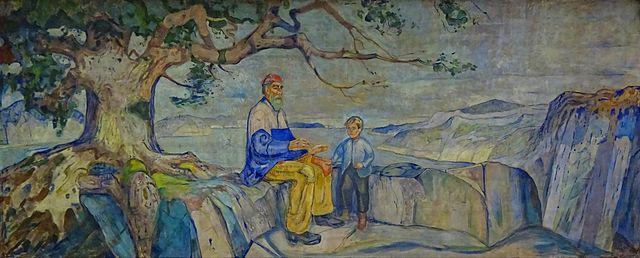 Edvard Munch History 1916