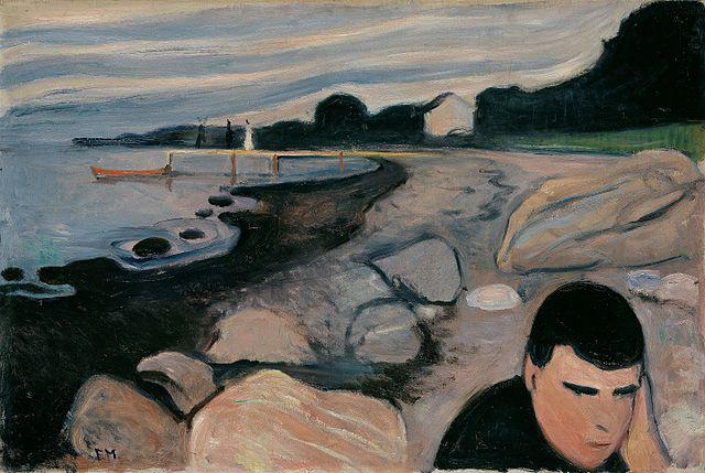 Edvard Munch Melancholy 1892