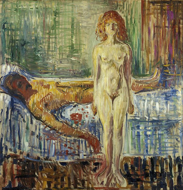 Edvard Munch The Death of Marat II 1907