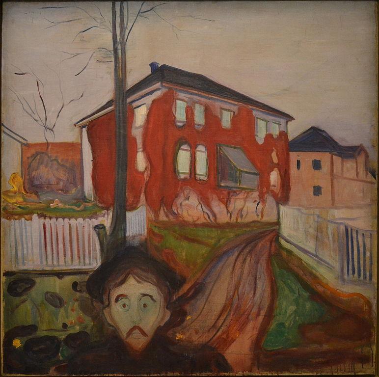 Edvard Munch Red Virginia Creeper 1898-1900