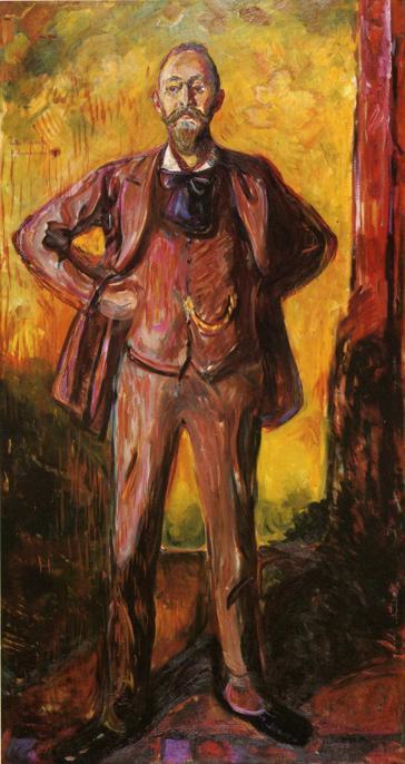 Edvard Munch Professor Daniel Jacobson 1908-1909