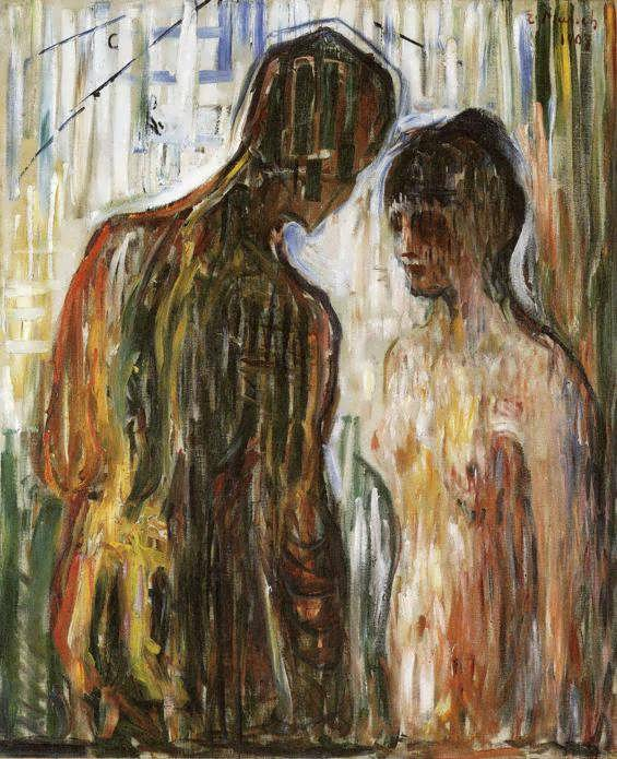Edvard Munch Cupid and Psyche 1907