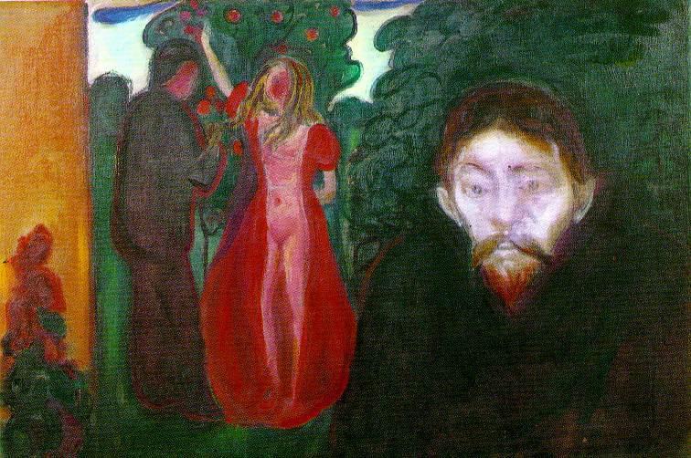 Edvard Munch Jealousy 1895