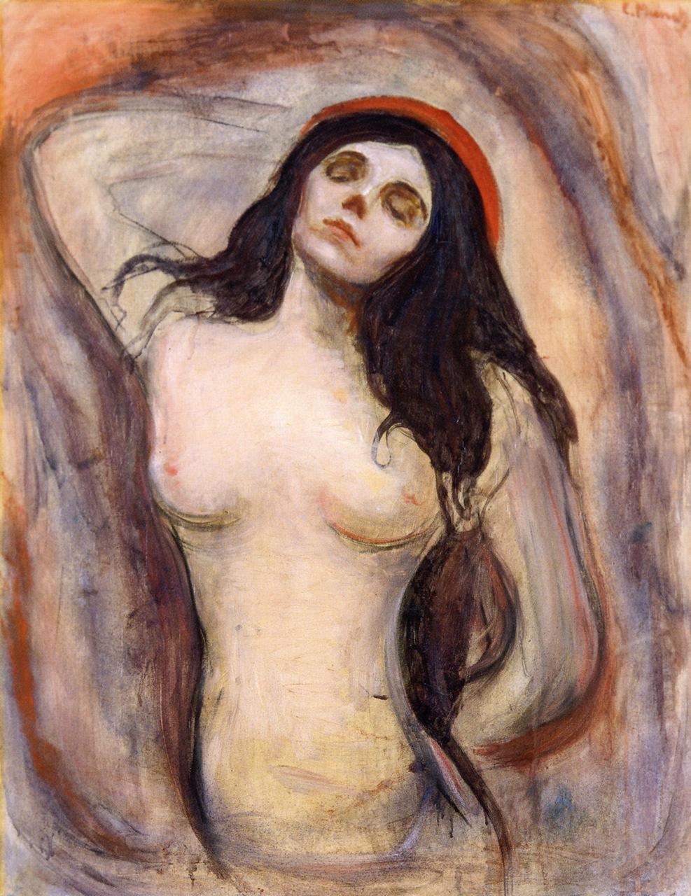 Edvard Munch Madonna 1895
