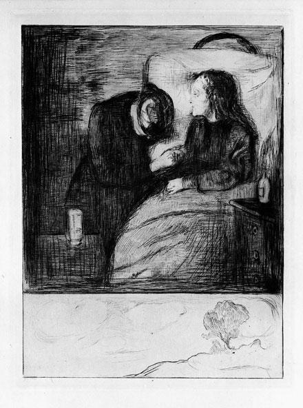 Edvard Munch The Sick Child 1894