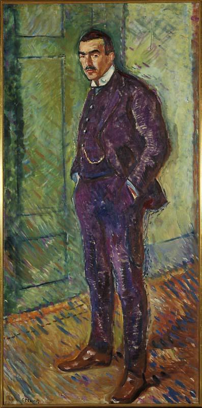 Edvard Munch Edvard Munch, Jappe Nilssen 1909