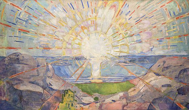 Edvard Munch The Sun 1911-1916
