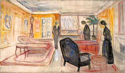 Edvard Munch Stage design for Ibsen's Ghosts 1906
