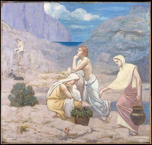 Pierre Puvis de Chavannes The Shepherd's Song 1897