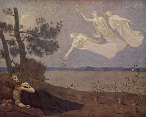 Pierre Puvis de Chavannes The dream 1883