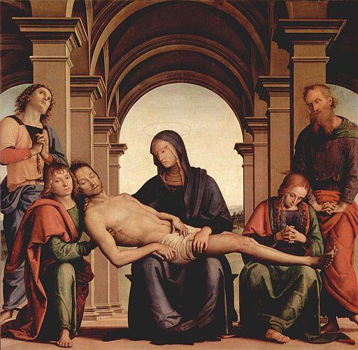 Pietro Perugino Pietà 1495