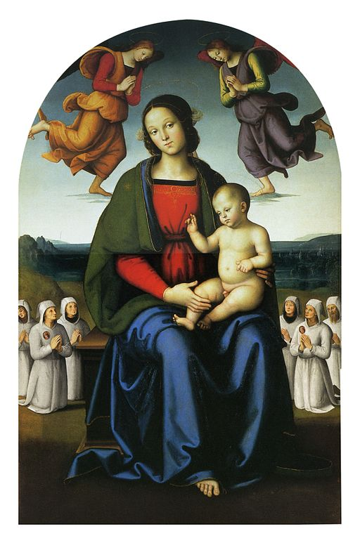 Pietro Perugino Madonna with child 1496-1498