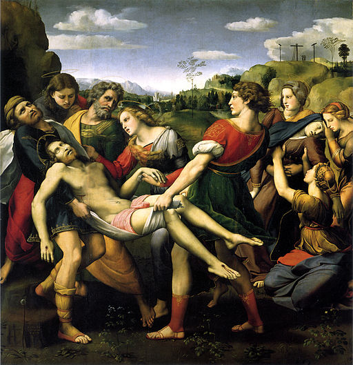 Raphael The Deposition 1507