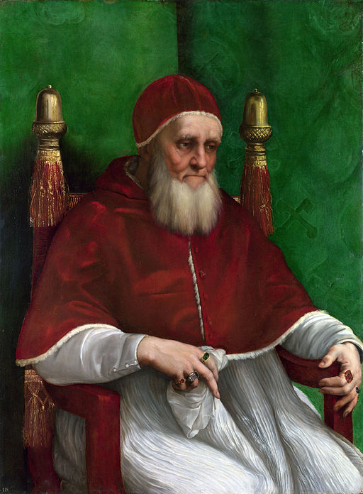 Raphael Portrait of Pope Julius II 1512