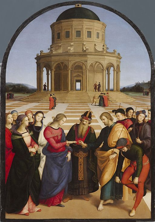 Raphael The Marriage of the Virgin 1504