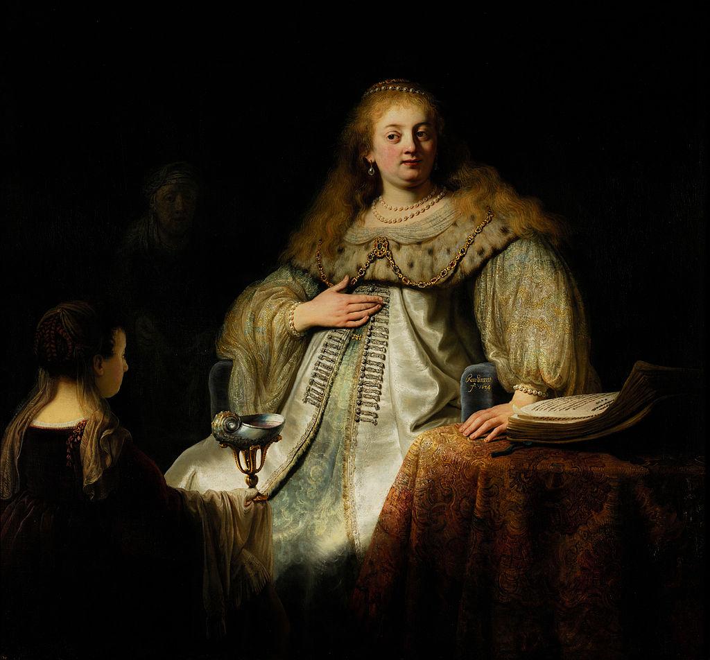 Rembrandt Artemisia 1634