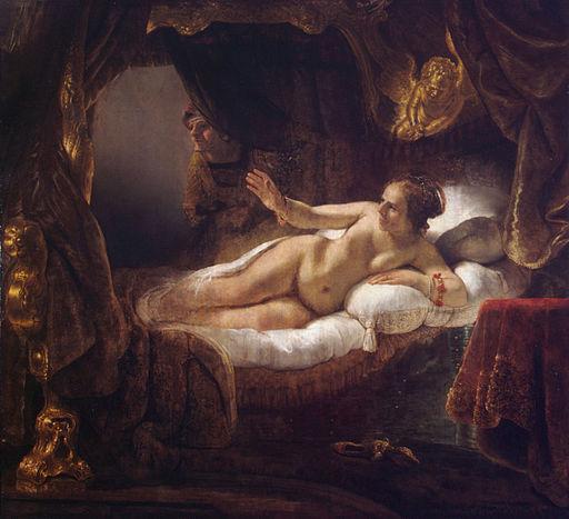 Rembrandt Danaë 1636-1637