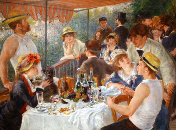 Pierre-Auguste Renoir Luncheon of the Boating Party 1882