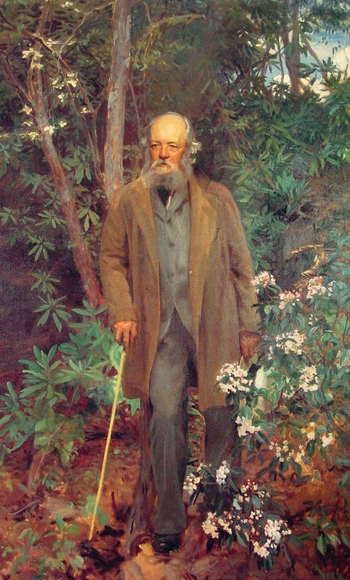 John Singer Sargent Portrait of landscape designer and architect Frederick Law Olmsted. 1895