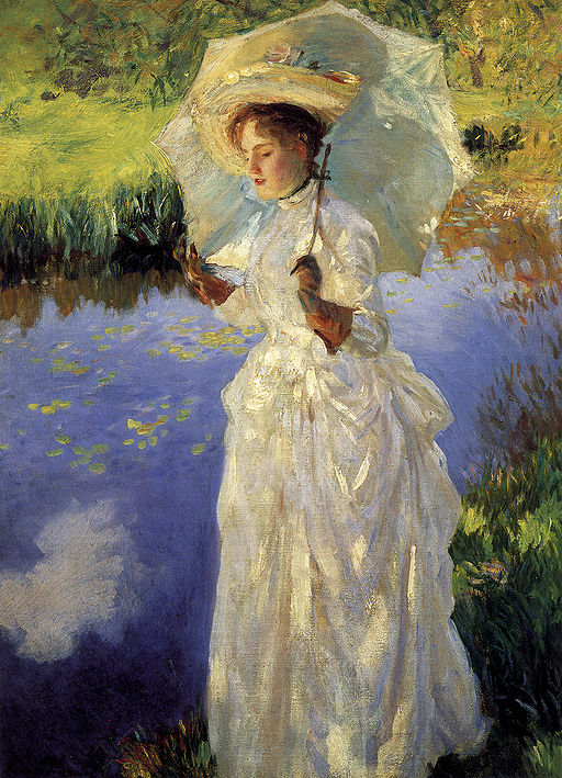 John Singer Sargent Morning Walk 1888
