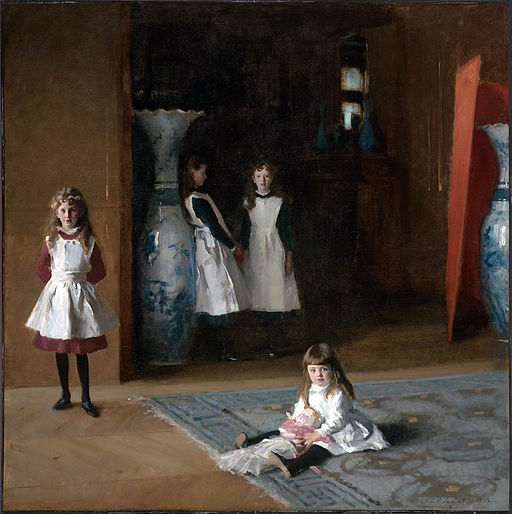John Singer Sargent The Daughters of Edward Darley Boit 1882