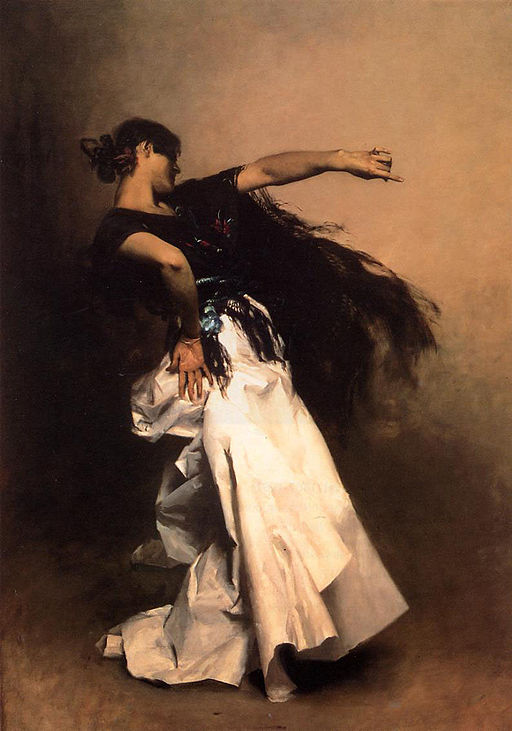 John Singer Sargent Spanish Dancer 1879-1882