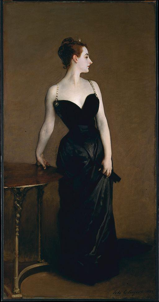 John Singer Sargent Portrait of Madame X 1884
